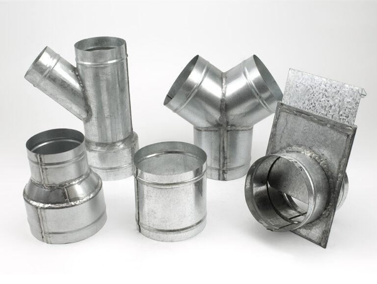 Reduktionen, Verbinder, Dreiwegestücke – Stahl verzinkt auf Bestellung